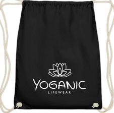 Yoganic Gymbag  black 14,95 EUR
