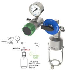 Liquid Sampler Bypass configuration - Mechatest type MBS-A3
