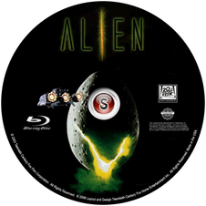 Alien Cover DVD