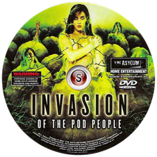 Invasion of the Pod People Cover DVD