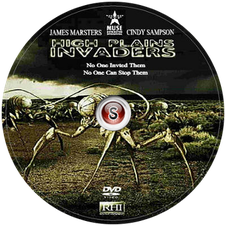 High Plains Invaders Cover DVD