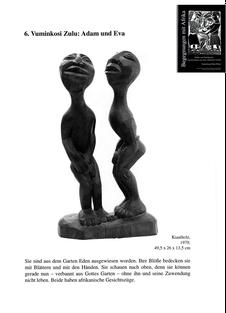 Vuminkosi Zulu - Adam und Eva