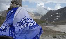 Luki's Slogan hilft steile Rampen zu meistern