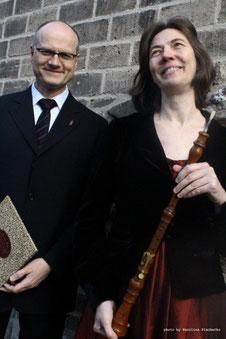 Karla Schröter und Willi Kronenberg