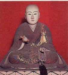 北条政子坐像。鎌倉市・安養院蔵