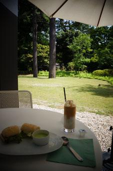 カフェ庭園