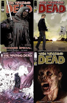 The Walking Dead Comic Portadas Alternativas