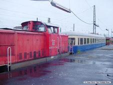 """Rangierlok """"Ernie"""" von """"DB Autozug Hildesheim"""""""