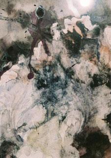 イリス3Iris(Watercolor painting)