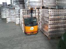 Runde Briketts aus Holz ohne Loch, regionale Produktion, DINplus zertifiziert