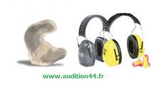 Equipement de Protection Individuel auditif