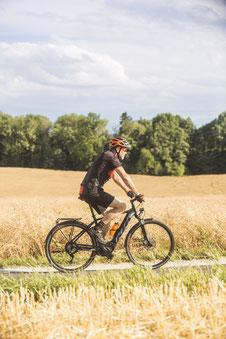 Mehr über die Mittelmotoren bei Trekking e-Bikes können Sie in unseren e-motion e-Bike Shops erfahren