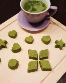Matcha Green Tea Chocolates