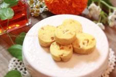 歓びオレンジオーガニックオレンジカシュー米粉クッキーグルテンフリー
