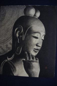 中宮寺 菩薩半跏像