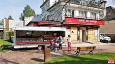 Espace de vente boulangerie Aubin.