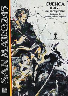 Fiestas de San Mateo 2015 en Cuenca Cartel y Programa