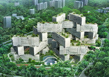 The Interlace, neues Wohngebiet in Singapore, von Architekt O.Scheeren