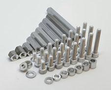 Alu Schrauben M3, Aluminium M3, Alu M3