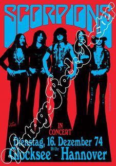 scorpions, schenker, Meine, scorpions poster, scorpions concert