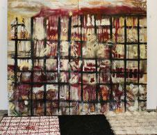© Nathalie Arun , Installation Blood Ashes Hope