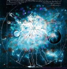 Kosmos Seele Mensch