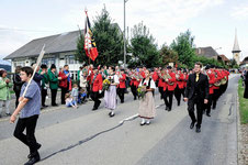 Die MFO auf der Marschmusik, Bild:BZ