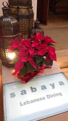 The Intercontinental Semiramis has its very own authentic Lebanese Eatery, Sabaya. Dante Harker
