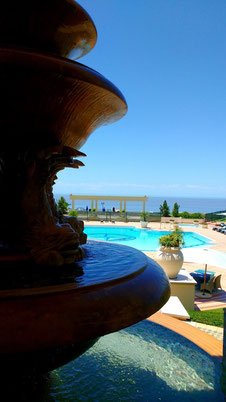 Pool time is calling at the Polana Serena Hotel, Maputo - Dante Harker