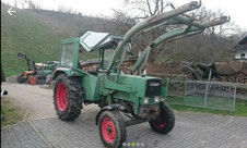 Fendt Farmer 3S, 48 PS, Bj. 1968