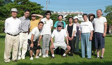 東松島市での血液循環療法協会ボランティアメンバー(H23.7)