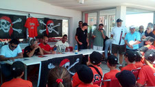 la presentazione dell'album all'America Graffiti