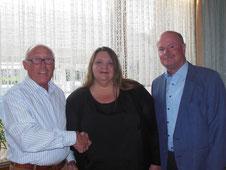 Vorsitzender: Peter Goertz, Chorleiterin:  Melissa McCauley-Irle, Geschäftsführer: Alfred Reipen