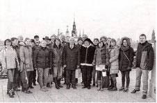 Konzertreise mit Stadterkundung: Die Erkelenzer Abordnung bei ihrem Besuch in Breslau. Foto: privat