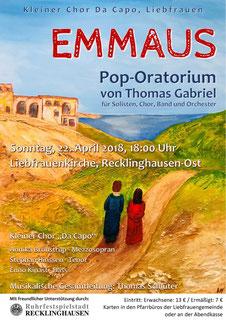 Thomas Gabriel Emmaus Recklinghausen Enno Kinast Bariton Bass
