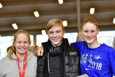 Maxine, Florian, Karoline