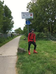 Auf seiner 2700 Kilometer langen Inliner-Tour durch Deutschland ist Mirko inzwischen in Rheinland-Pfalz angekommen.