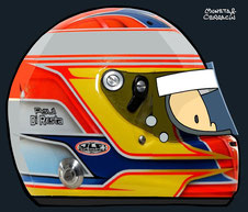 Helmet of Paul di Resta by Muneta & Cerracín