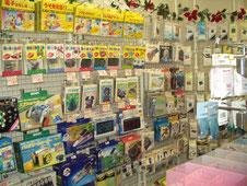 電子工作キット、電子部品販売のパーフィル(岐阜県美濃加茂市)店内の様子