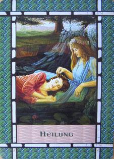 Kartenquelle: Doreen Virtue, Das Heilorakel der Engel