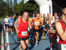 Start vom 10 km Lauf