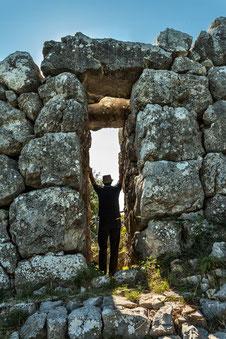 Monte Pallano, le mura megalitiche. Bomba, Chieti