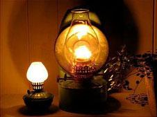 ランプの写真