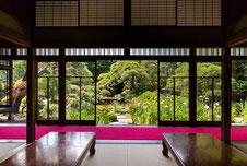 jardin yamamoto tei avec un guide francophone japon prive