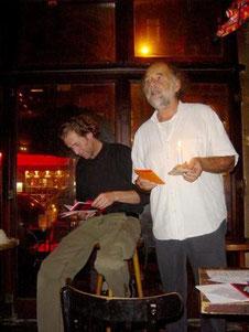 LESUNG 5.10.2008: Rech & De Toys @ Café Storch, Köln (c) FOTO: R.Ploenes