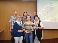 Der neue NABU OG SBK Vorstand (6 Personen)