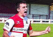 Rubén Pérez, sinónimo de gol. Foto: www.bizkaigol.com