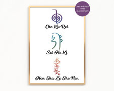 Reiki Principles and Symbols