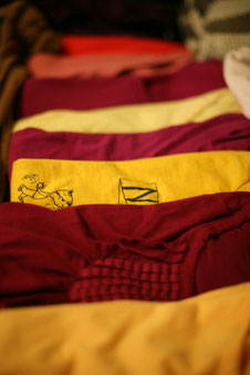 Ordnung im Kleiderschrank schaffen