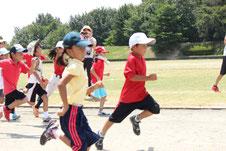 子供の体力向上 運動能力向上 走力向上 スポーツバランス